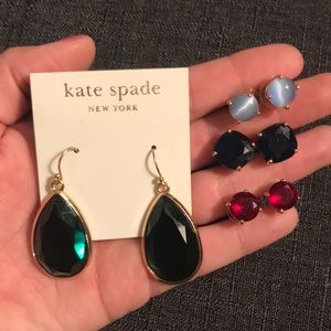 Lot of Kate Spade earrings